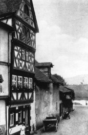 Mikwe in Miltenberg, um 1920, © Theodor Harburger