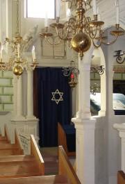 Innenansicht der Synagoge Veitshöchheim, © Jüdisches Kulturmuseum und Synagoge Veitshöchheim